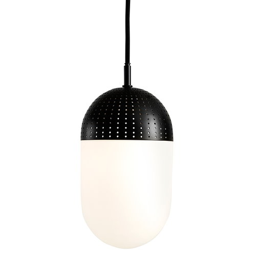 Woud Dot pendant, L, black
