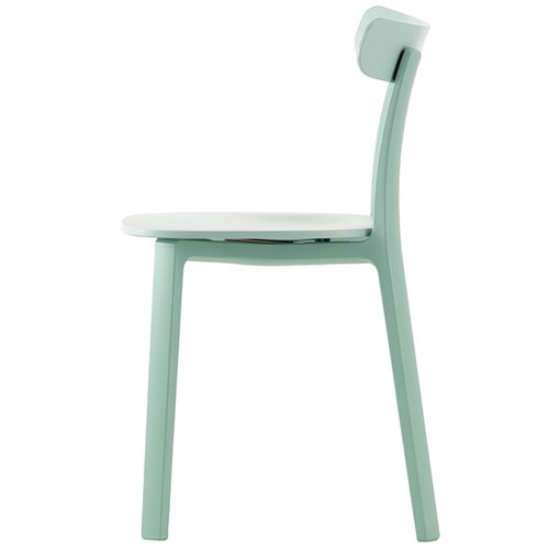 Vitra All Plastic Chair, j��nharmaa