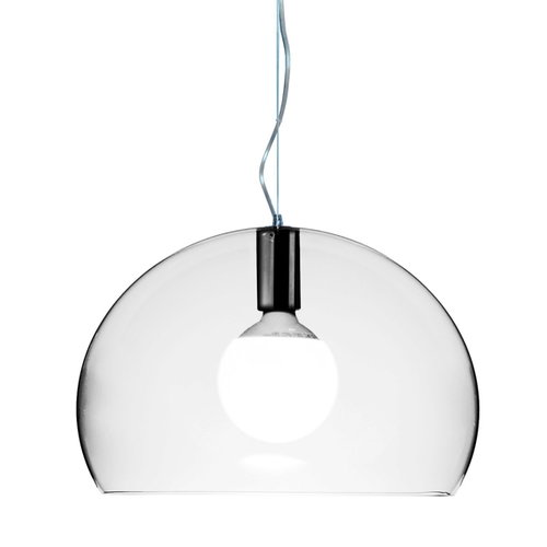 Kartell FL/Y pendant small, clear