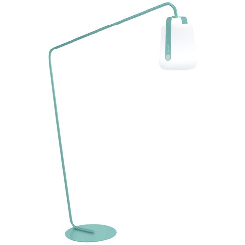 Fermob Balad lamp stand, offset, blue lagoon