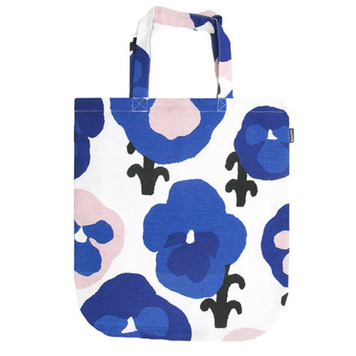 Kauniste Orvokki tote bag, blue
