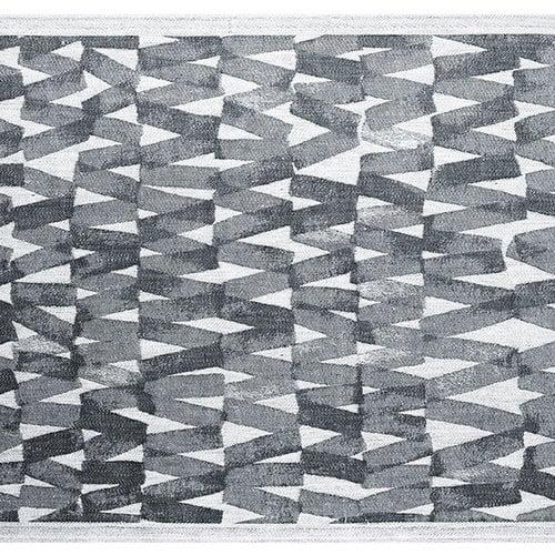 Lapuan Kankurit P�re seat cover, 46 x 150 cm, black-white