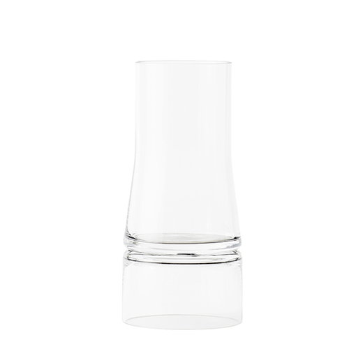 Lyngby Porcelain JC vase 2 in 1, small, clear