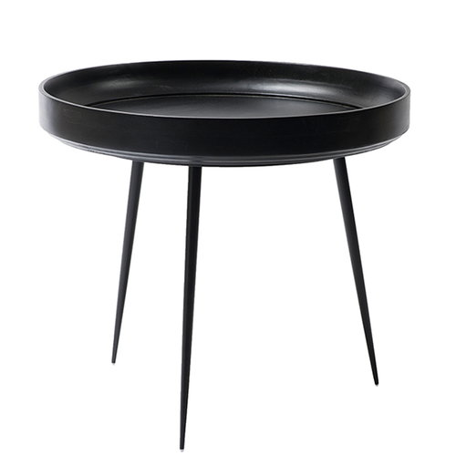 Mater Bowl table, large, black