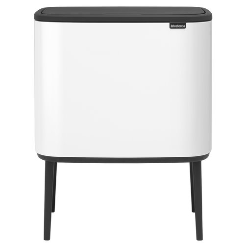 Brabantia Bo Touch bin 11 + 23 L, white
