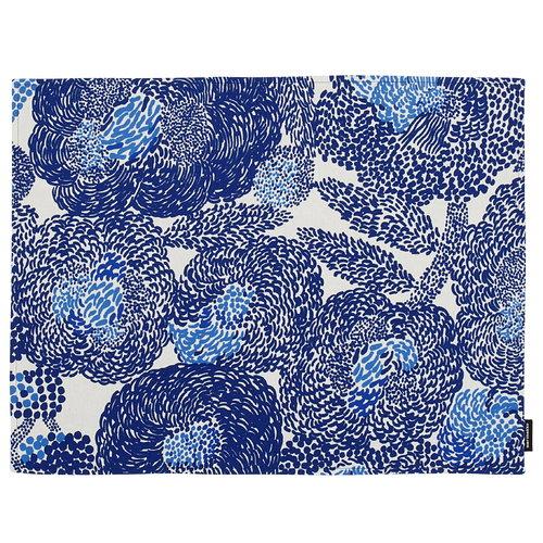 Marimekko Mynsteri pinnoitettu kangastabletti,  valkoinen - sininen