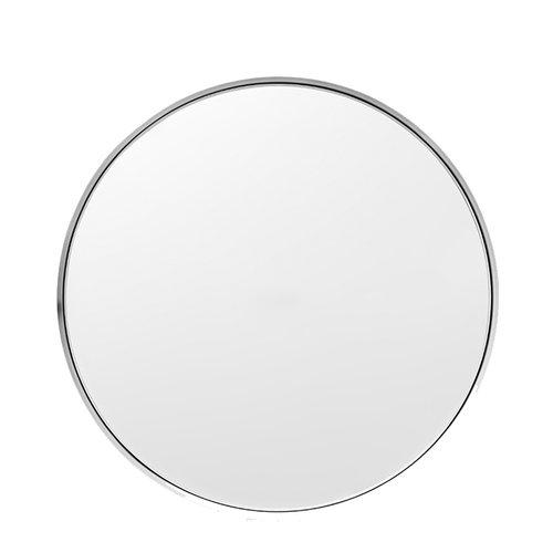 Menu Darkly mirror, medium, aluminum