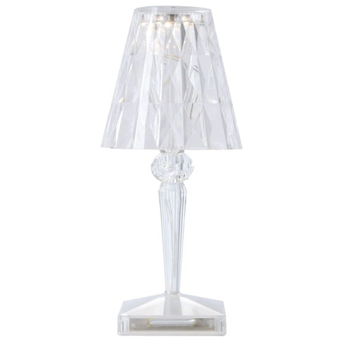 Kartell Battery lamp, clear