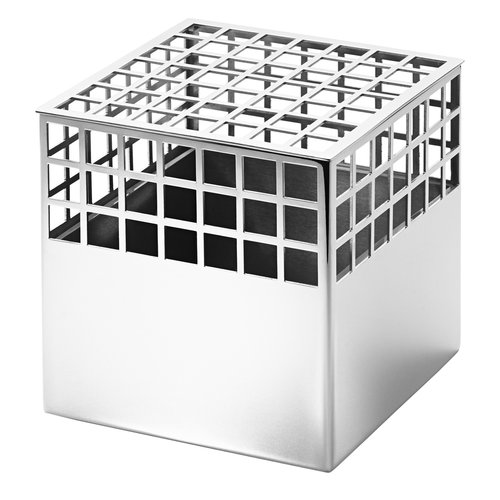 Georg Jensen Matrix vase, cube, medium