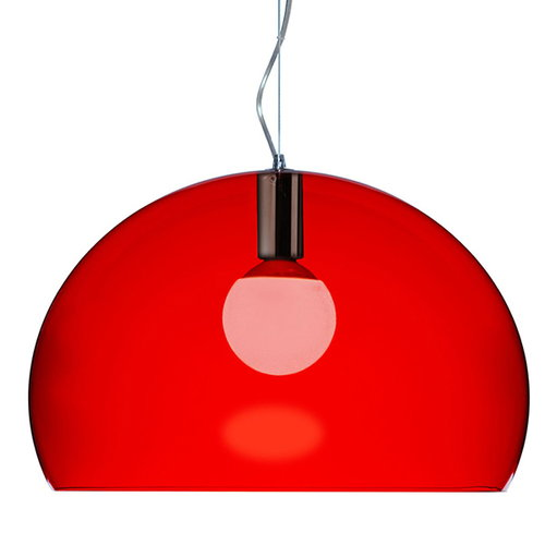 Kartell FL/Y pendant lamp, red