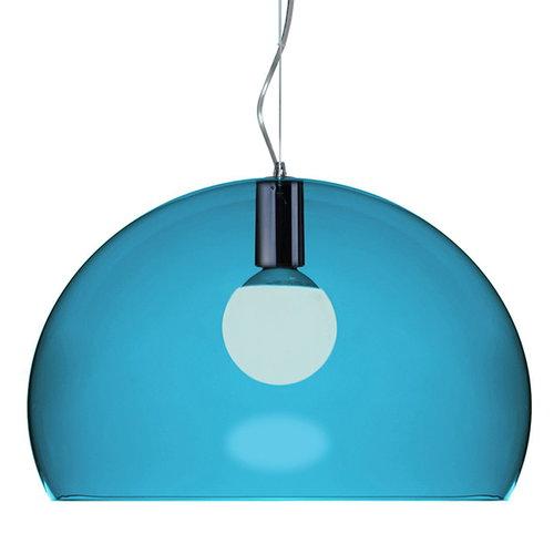 Kartell FL/Y pendant lamp, petrol