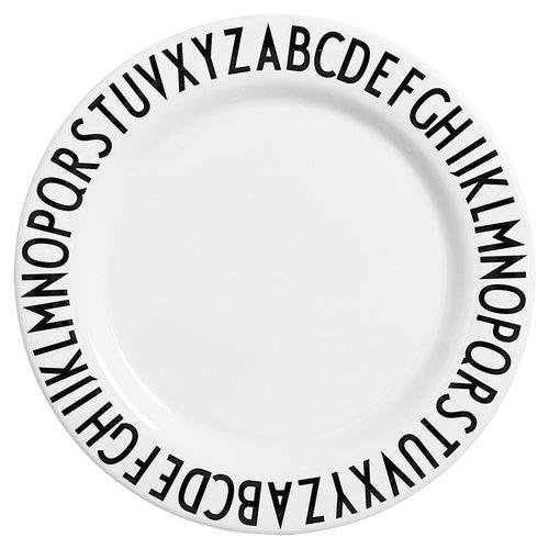 Design Letters Arne Jacobsen melamine plate, large