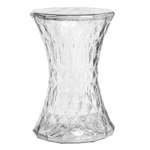 Kartell Stone stool, clear