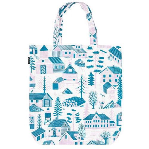 Kauniste M�kkil� tote bag, blue