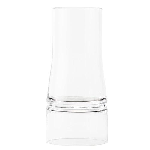 Lyngby Porcelain JC vase 2 in 1, large, clear