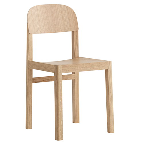Muuto Workshop chair, oak