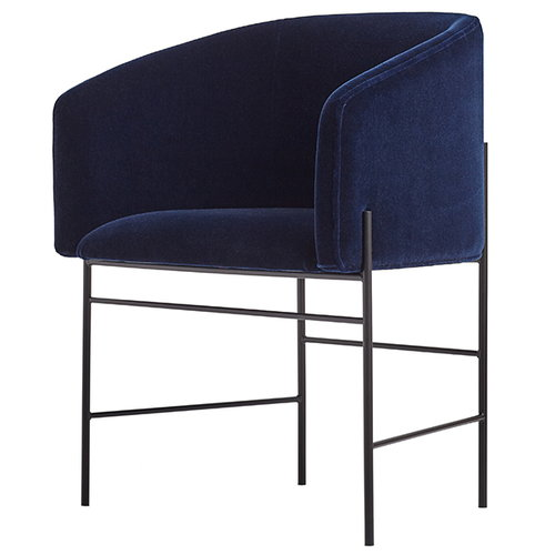 New Works Covent chair, dark blue