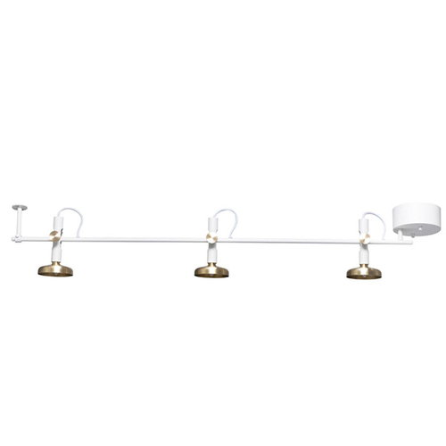 Pholc Blend ceiling lamp, white-brass