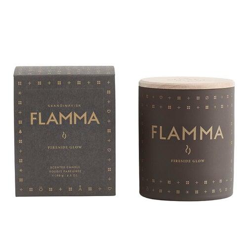 Skandinavisk Scented candle with lid, Flamma