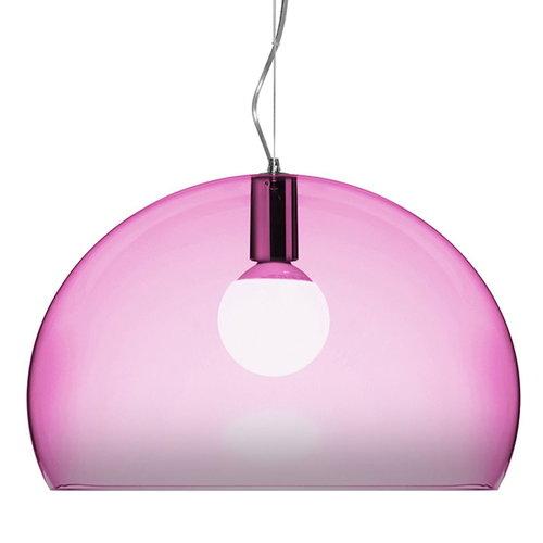 Kartell FL/Y pendant lamp, pink