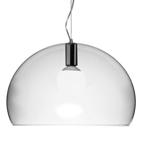 Kartell FL/Y pendant lamp, crystal