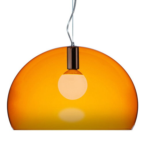 Kartell FL/Y pendant lamp, orange