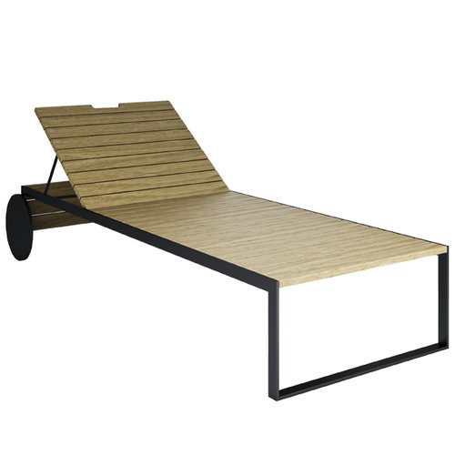 R�shults Garden Lounger