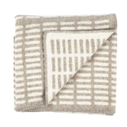 Artek Siena blanket, natural-white