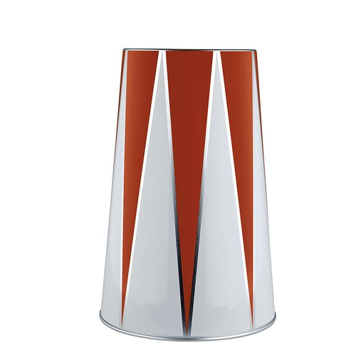 Alessi Circus wine cooler, red-white