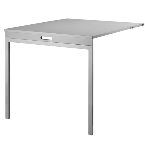 String String folding table, grey