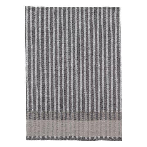 Ferm Living Grain tea towel, grey