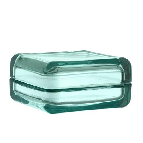 Iittala Vitriini box 108 x 108 mm, water green