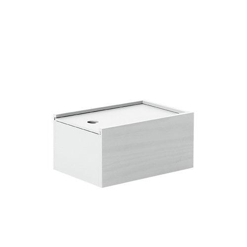Lundia System 1 laatikko, savunharmaa