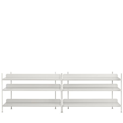Muuto Compile shelf, Configuration 6, grey