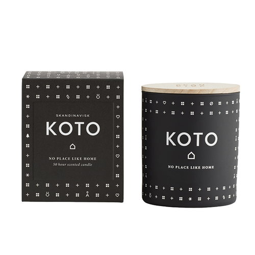 Skandinavisk Scented candle with lid, KOTO
