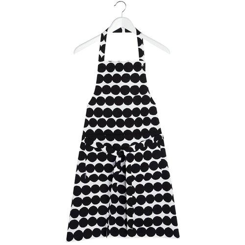 Marimekko R�symatto apron, black-white