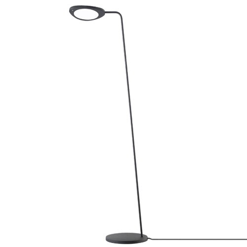Muuto Leaf floor lamp, black