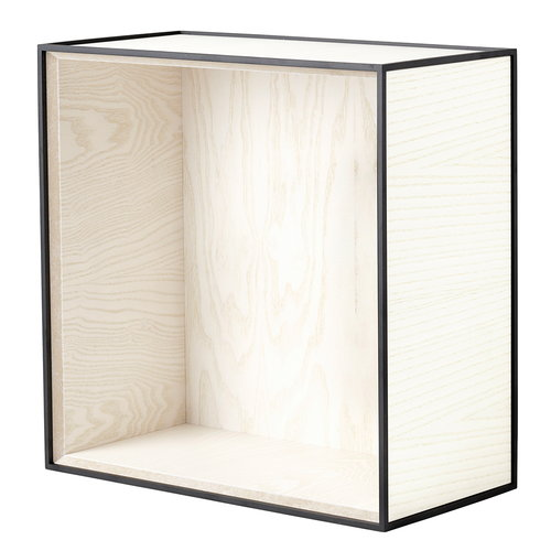 By Lassen Frame 42 box, white stained ash