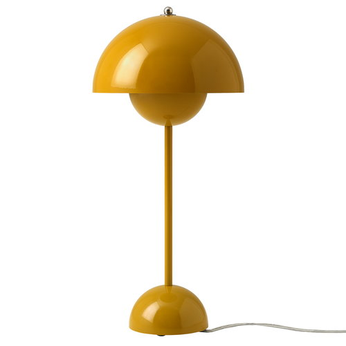 &Tradition FlowerPot VP3 table lamp, mustard