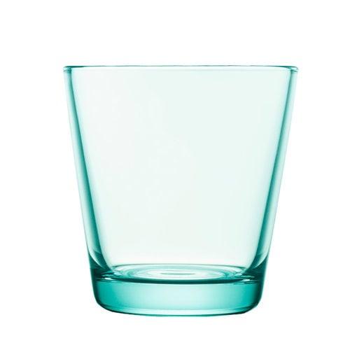 Iittala Bicchiere Kartio 21 cl, verde acqua, 2 pz