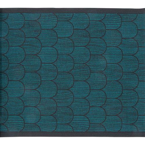 Lapuan Kankurit Paanu laudeliina 48 x 60 cm, musta-petrooli