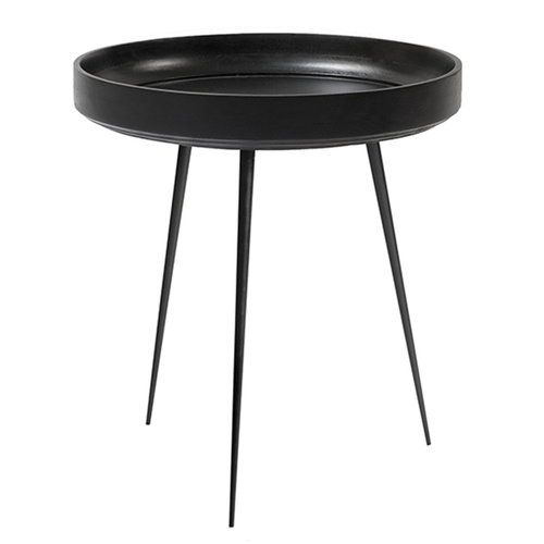 Mater Bowl table, medium, black