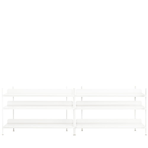 Muuto Compile shelf, Configuration 6, white