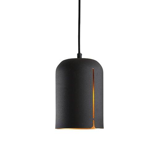 Woud Gap pendant, short, black