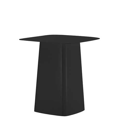 Vitra Metal Side Table M, outdoor, black