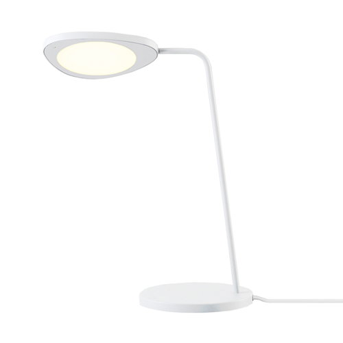Muuto Lampada da tavolo Leaf, bianca