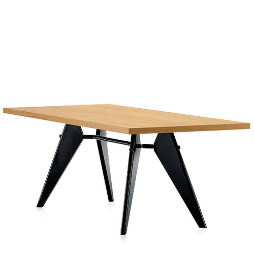 Vitra Em Table 240 x 90 cm, oak - black