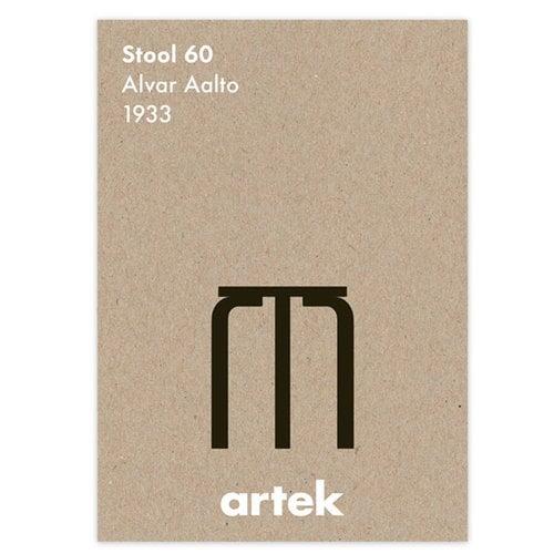 Artek Poster Stool 60