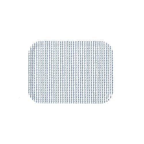 Artek Rivi tray, 27 x 20 cm, white-blue
