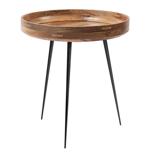 Mater Bowl table, medium, natural